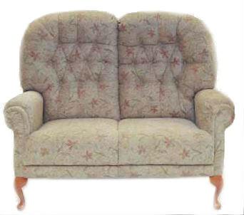 M Sadiq Yasmin Queen Anne 2 Seater Sofa Small Sofas