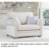 Alstons Cambridge Snuggler  Armchair