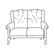 M Sadiq Abbey Showood 2 Seater Sofa