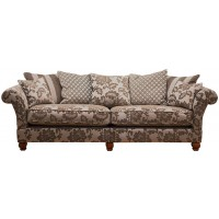 Buoyant Constable Pillow Back 4 Seater Modular Sofa