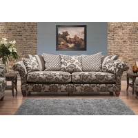 Buoyant Constable Pillow Back 3 Seater Sofa