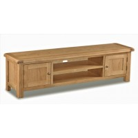 Global Home Collection 27 Large Low Line TV Cabinet