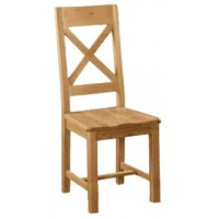 Global Home Collection 27 Cross Back Dining Chair