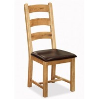 Global Home Collection 27 Ladder Dining Chair