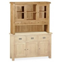 Global Home Collection 27 Large Hutch Cabinets & Display Unit