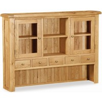 Global Home Collection 27 Extra Large Hutch Cabinets & Display Unit
