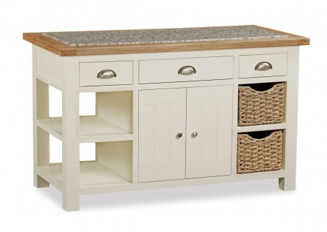 Global Home Collection 98  Kitchen Island