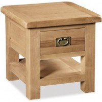 Global Home Collection 27 With Drawer Lamp Table