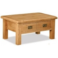 Global Home Collection 27 With Drawer Coffee Table